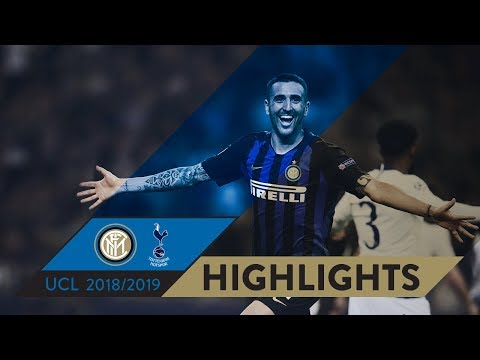 INTER-TOTTENHAM 2-1 | HIGHLIGHTS | Matchday 01 - UEFA Champions League  2018/19