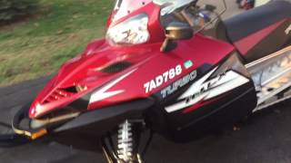 1. 2012 Polaris 750 IQ LX Turbo