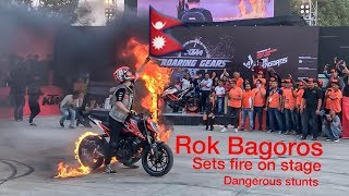 Rok Bagoros stunts in Nepal    The KTM Bike vlog    viral stunts