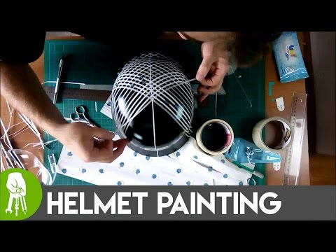 How To Paint Helmet With Spray Paints