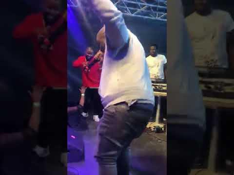 Zakwe performing SEBENTIN verse