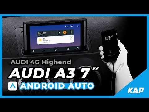 AUDI A3 ANDROID AUTO !!!
