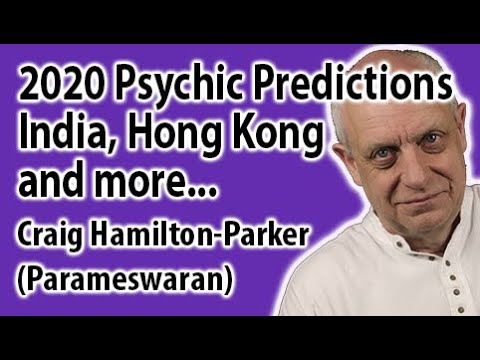 2020 Psychic Predictions for India, Hong Kong, and the Middle East | Parameswaran