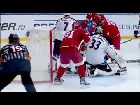 KHL Top 10 Saves for Week 8 (видео)