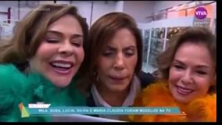 Video As atrizes Maria Cláudia, Lúcia Alves, Mila Moreira e outras no Vídeo Show. download in MP3, 3GP, MP4, WEBM, AVI, FLV January 2017
