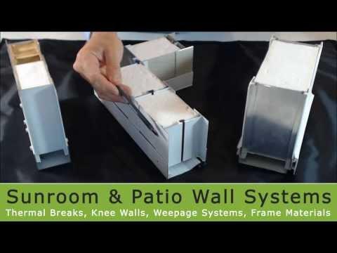Sunroom Wall Systems