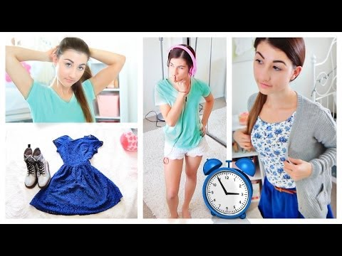 ready - Fast hair, makeup and outfit ideas to get ready in 10 minutes! 'LIKE' this video for my school night routine video! Last Video (make sure to watch!!) https:/...