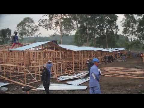 1500 maisons en construction  en faveur des sinistrés de Nyiragongo