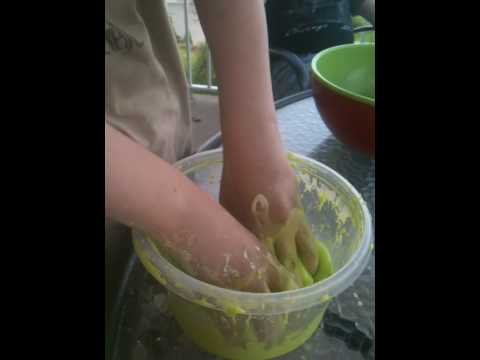how to dissolve oobleck
