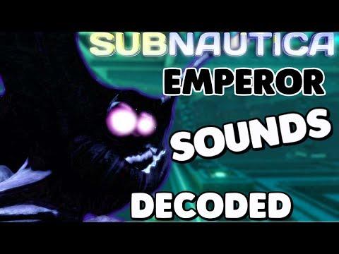 Subnautica - SEA EMPEROR SOUNDS REVEALED, PRISON UPDATE & CALL+ MAJOR CARAR VIRUS CHANGE - Gameplay (видео)