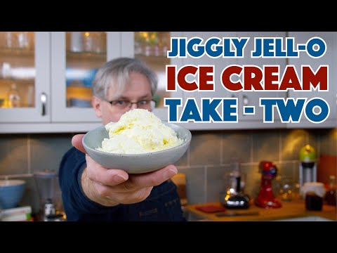🔵 Jell-O Ice Cream Tests - Take 2 || Glen & Friends Cooking