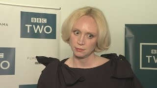 Gwendoline Christie who plays Brienne of Tarth on Game of Thrones has said the HBO series has turned her into a vault of secrets. Report by Hettie Maylam.