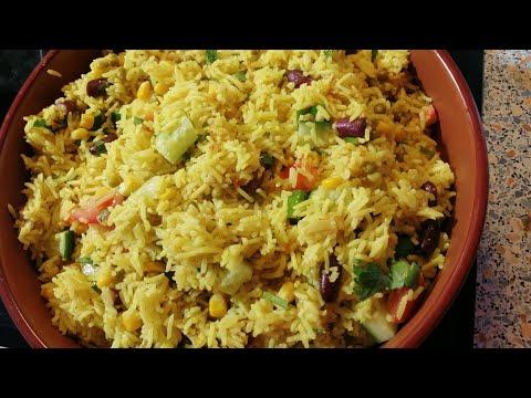 Eritrean Essen Ries Ruz ሰላጣ ሩዝ