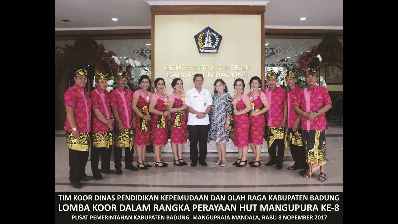 HUT Mangupura Ke-8 bersama Tim Koor Disdikpora Kabupaten Badung 2017