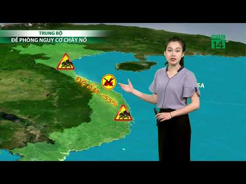 Thời tiết 6h 17/07/2019: Bão Danas hoạt động trên gần biển Đông| VTC14