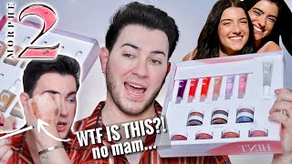 Charli and Dixie D'Amelio collabed with MORPHE?! MORPHE 2 UNBIASED REVIEW! by Manny Mua