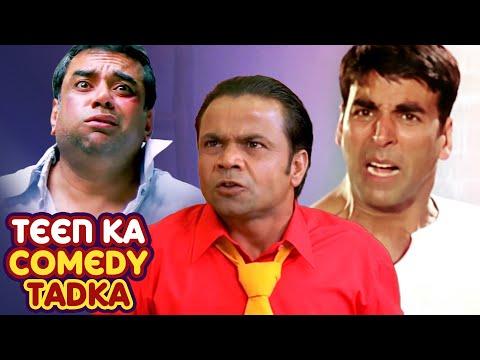 Best of Comedy Scenes | Teen La Comedy Tadka | Superhit Movie Phir Hera Pheri - Dhol - Bhagam Bhag