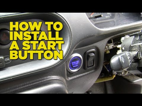install - in this episode the boys bow under the pressure of their email inbox to show you how to install an aftermarket start button in your car. !! YES. We DO own ho...