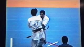 極真アーカイブス第20回全日本3回戦石井豊vs小井義和