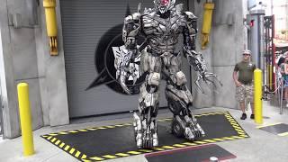 Transformers at universal studios