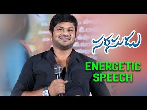 Video Manchu Manoj Energetic Speech at Sarasudu Movie Audio Launch - Simbu , Nayantara download in MP3, 3GP, MP4, WEBM, AVI, FLV January 2017