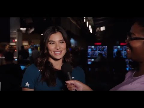 Diane Guerrero talks about Superior Donuts on #WhatsHappening