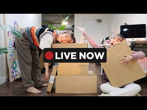 🔴LIVE: Styling Unboxing luxury fashion items with FARFETCH | Q2HAN видео