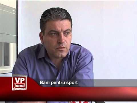 Bani pentru sport