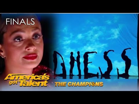 Silhouettes: Shadow Dance Has Alesha Dixon in TEARS with Homeless Story | AGT Champions 2020
