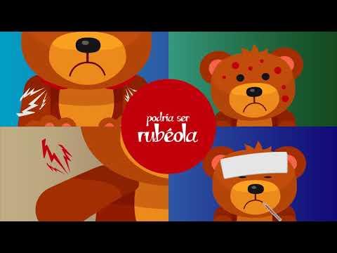 ¿Sabes cuáles son los síntomas del sarampión y la rubéola?