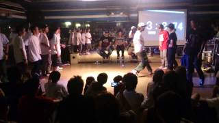 Crew Battle FINAL[REACLAFOUNDvs 山梨ALL STARS+4D HASHA]