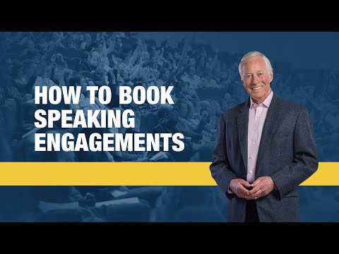 How to Book Speaking Engagements   Brian Tracy