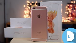 Rose Gold iPhone 6s Unboxing! Hey Guys, in this video Daniel takes a quick look and unboxes the iPhone 6s in Rose Gold!Subscribe to see future content: YouTube.com/c/dltreviewsSubscribe for Gaming:https://www.youtube.com/c/dltgamingSubscribe for Science:https://www.youtube.com/c/dltscienceFor Tech News Visit: dltReviews.com Get Partnered With Freedom: https://www.freedom.tm/via/dltReviewsTwitter https://twitter.com/dltReviewsInstagramhttp://instagram.com/dltmediagroupMusic:Intro- Tobu & Itro - Holiday'Holiday' on iTunes: http://smarturl.it/Holiday_iTuneshttp://www.7obu.comhttp://www.youtube.com/tobuofficialhttp://www.facebook.com/tobuofficialhttp://www.soundcloud.com/7obuhttp://www.twitter.com/tobuofficialhttp://smarturl.it/Tobu_Spotifyhttp://smarturl.it/Tobu_iTunesOutro: Sugar High- Approaching Nirvanahttp://youtube.com/user/approachingni...Buy the song on iTunes: http://bit.ly/10rZfBG