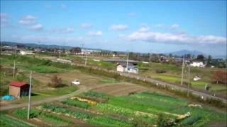 Joetsu Japan  City pictures : Riding Joetsu Shinkansen (上越新幹線) Max Toki to Niigata in Japan