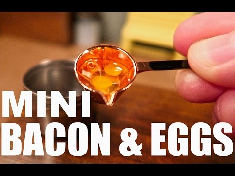 Miniature Bacon and Eggs
