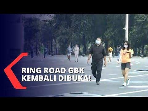 Jakarta Kembali PSBB Transisi, GBK Buka Hingga Jam 9 Malam