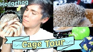Hedgehog Cage Tour! | $2 Off Coupon by Tyler Rugge