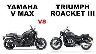 9. Yamaha V Max vs Triumph Rocket III-Head To Head