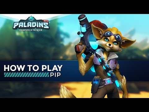 Paladins — How to Play — Pip (The Ultimate Guide!)