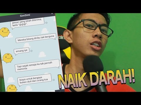 Video TEXT PRANK KE SIMSIMI!! BIKIN NAIK DARAH - (BAD - Young Lex ft AwKarin) download in MP3, 3GP, MP4, WEBM, AVI, FLV January 2017
