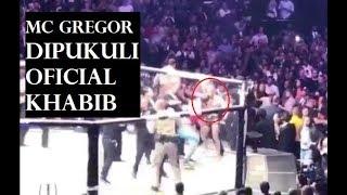 Video PUKULAN TELAK official Khabib Nurmagomedov kepada Mc Gregor MP3, 3GP, MP4, WEBM, AVI, FLV Oktober 2018