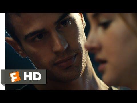 Divergent (3/12) Movie CLIP - Four Helps Tris (2014) HD