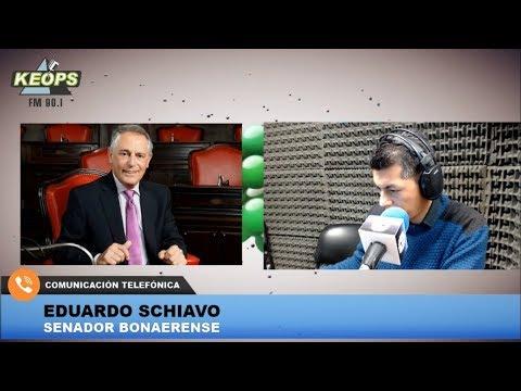 Senador Schiavo habló sobre un proyecto para una nueva ley orgánica municipal