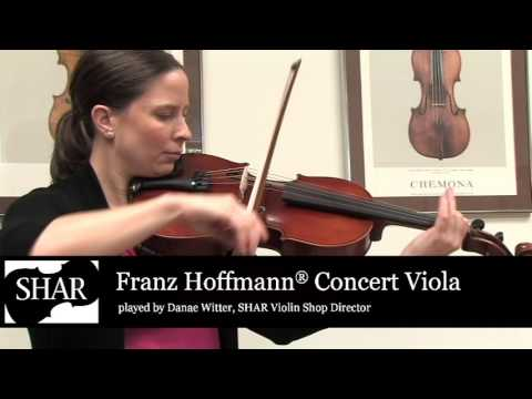 Video - Blemished Franz Hoffmann® Concert Viola - Instrument Only - 16.5 inch | BSH500V 165