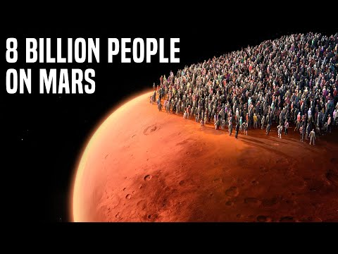 What If We Place 8 Billion People On Mars Now?