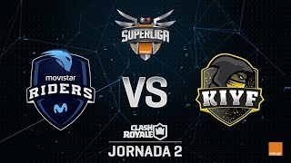 SUPERLIGA ORANGE - MOVISTAR RIDERS VS KIYF- Jornada 2 - #SuperligaOrangeCR2