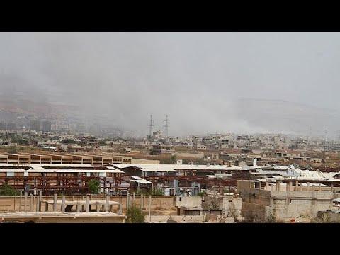 Η Δαμασκός καταγγέλλει «χτύπημα» από το Ισραήλ