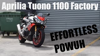1. 2018 Aprilia Tuono V4 1100 Factory | Review