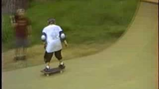 Neil Hendrix skating the mini, 1991