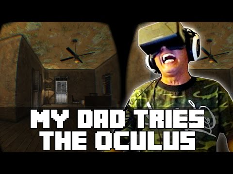 reactions - I wanted to originally make a compliation video of my whole family reacting to the Oculus Rift, but my dad's reaction are so good, it had to be it's own video! Don't forget to press that like...